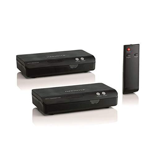 HDMI über Powerline - Marmitek HDTV Anywhere - Senden Sie ein HDMI-Signal über das vorhandene Stromnetz an einen anderen Raum - Full HD - 1080p - Drahtloser HDMI Adapter - Flächendeckendes Bereich