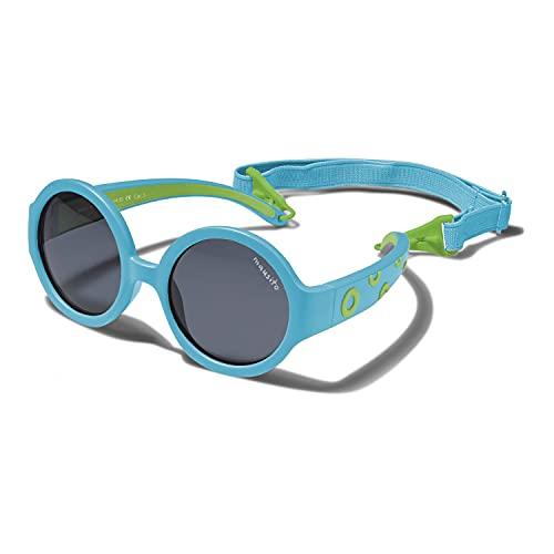 Mausito® Gafas de sol Bebés niña & niño 1-2 años I FLEXIBLES gafas de sol para niños con banda ajustable I 100% PROTECCIÓN UV I Gafas de sol infantiles de Goma resistente I Ultralivianas