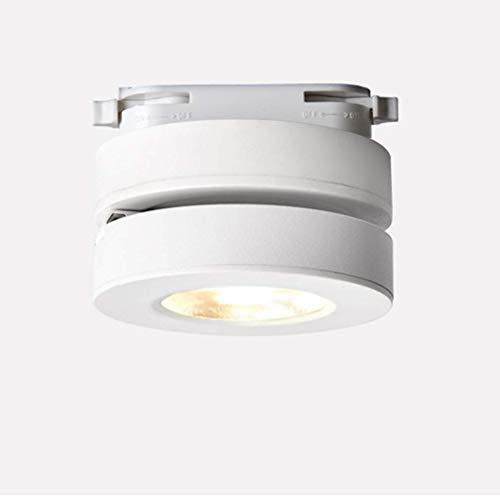 Lámpara de techo LED ultradelgada, plegable y giratoria de 360 grados para lavado de pared comercial, 5 W/45 mm, Blanco, Warm light
