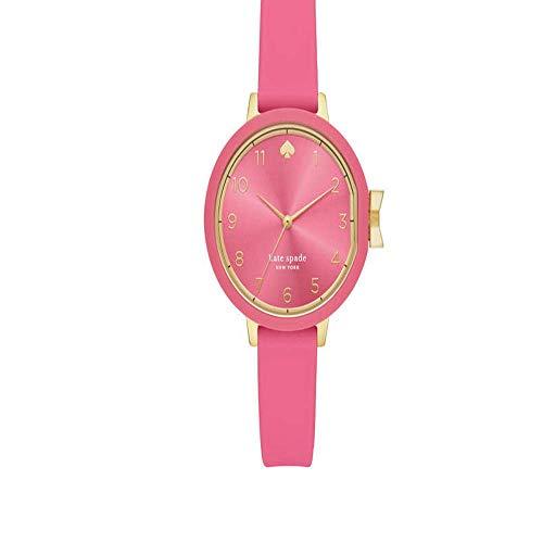 Kate Spade New York con cinturino in silicone rosa per orologio da donna KSW1518
