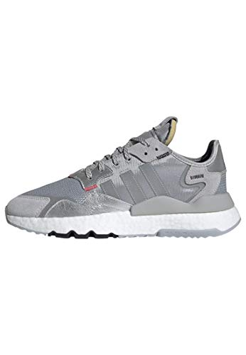 adidas Nite Jogger Shoes Men's, Silver, Size 7.5