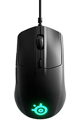 SteelSeries Rival 3 - Gaming Mouse - 8,500 CPI TrueMove Core Optical Sensor - 6 Programmable Buttons - Split Trigger Buttons, Black