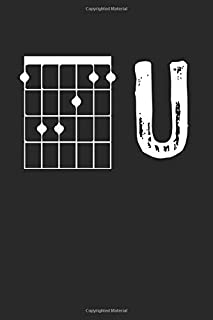 Guitarist F U: Notebook / 6x9 Zoll / 120 ruled Pages