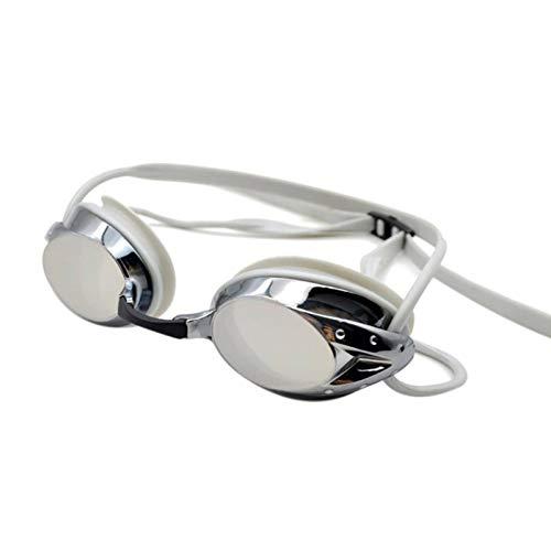N\C Gafas de natación Aegend con 3 Piezas nasales Ajustables, Gafas de natación con Lentes Planas