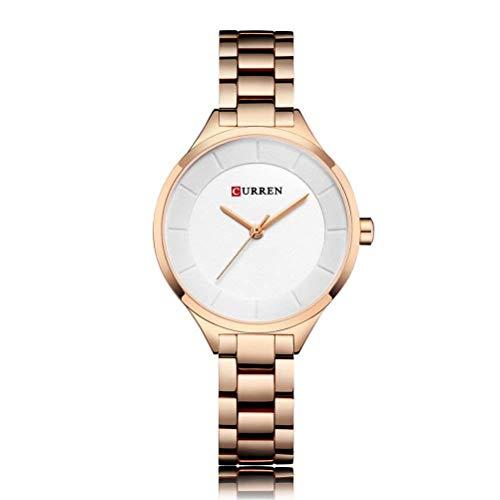 xisnhis schöne Uhren curren9015 Frauen auf Stahl - Frauen auf Quarz