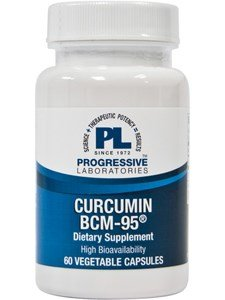 Progressive Labs - Curcumin BCM-95 60 vcaps (2-Pack)
