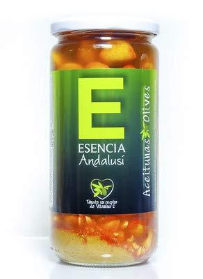 Aceitunas Aliñada Mojo Picón 700 Gr - Esencia Andalusí - Producto de Jaén (2 Unidades)