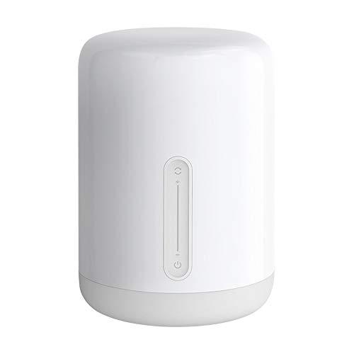 Yeelight WEGB Dimmable WiFi Bedside Lamp 2, temporizador, interruptor táctil, control por voz, trabajo con HomeKit, aplicación MiHome