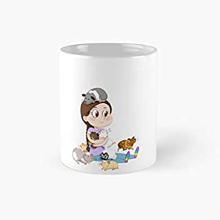 Crazy Guinea Pig Lady (on my own terms) - 11 Oz Ceramic Coffee Mug- Perfect Gift for Family