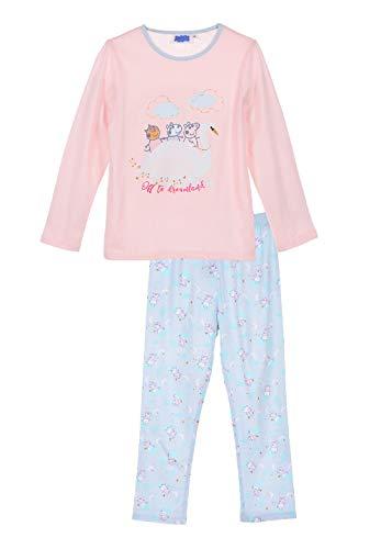 Peppa Wutz Pig Mädchen Kinder Schlafanzug Pyjama, Größe:104