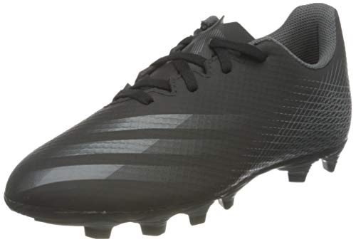 adidas X GHOSTED.4 FxG, Zapatillas de fútbol Hombre, NEGBÁS/GRISEI/NEGBÁS, 45 1/3 EU