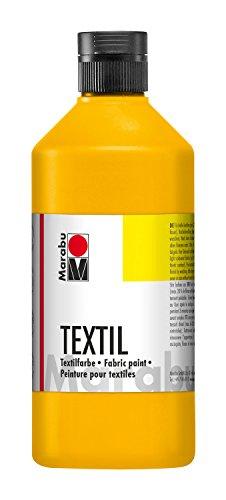 Marabu 17160075073 Peinture pour textile, 500 ml, noir - version allemande