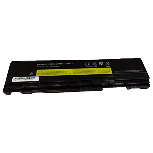 Onlyguo 11.1V 3800MAH 42T4690 51J0497 42T4691 42T4689 Replacement Laptop Battery for Lenovo ThinkPad T400s T410s Laptop
