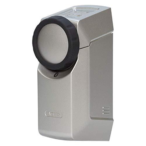 ABUS HomeTec Pro Bluetooth CFA3100 - Elektronisches Türschloss - Haustür per App auf dem Smartphone öffenen und verriegeln - mit Zugangskontrolle - Silber