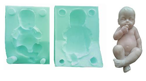 Siliconen mal voor handgemaakte baby baby gebruik met diy fopspeen - ook geschikt voor zeep