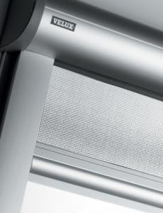 VELUX Insektenschutzgitter, für Dachfenster, Höhe 160/200/240cm, ermöglicht Belüftung 1600x496 mm - ZIL CK02 grau