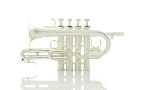 Schilke P7-4 Custom Series Bb/A Piccolo Trumpet 4 Valve Silver