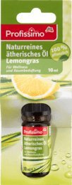 Profissimo Duftöl Naturreines ätherisches Öl Lemongras, 10 ml