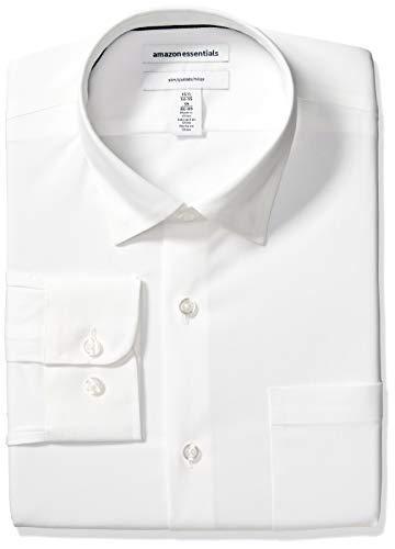 Amazon Essentials Slim-fit Wrinkle-Resistant Stretch Dress Shirt Hombre
