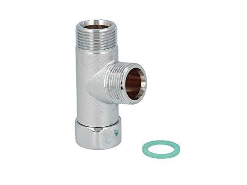 tecuro Verteilerstück 3/4 Zoll - für Geräte, ms-verchromt