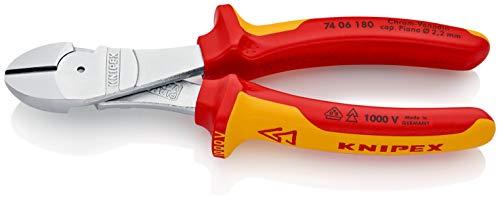 alicates de corte diagonal 180mm Marca KNIPEX