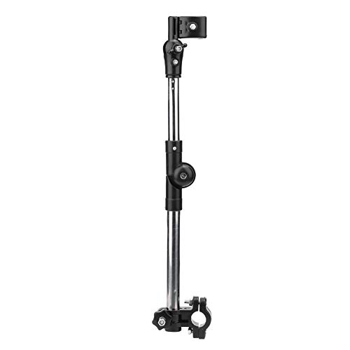 Accesorio de paraguas para silla de ruedas, soporte de paraguas ideal multifunción para bicicletas