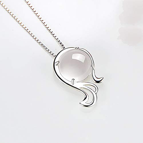 ZYLBDNB Necklace for Women Locket Virgo 925 Sterling Silver Necklace For Women Constellation Zodiac 12 Horoscope Astrology Pendant Necklace Birthday Gift Necklace for Women Stylish