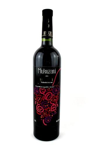 "trockener Rotwein ""Mukuzani"" 0,75 L Wein aus Georgien"