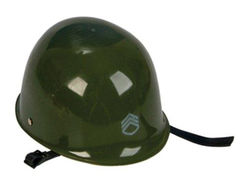 ROCKYMART Olive Drab Green Toy Army Hat Helmet Kids Military Costume Pretend Head Gear