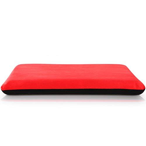 TOOM24K - Cojin de algodon con memoria para asiento de coche, silla de oficina, comedor, tatami, antideslizante, cojin portatil, para oficina, familia, coche a