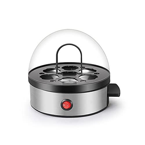 ZIEM Cazador furtivo de Huevos eléctrico fácil, Tortilla y cocedor de Huevos Duros, Blando y Mediano Capacidad para 7 Huevos
