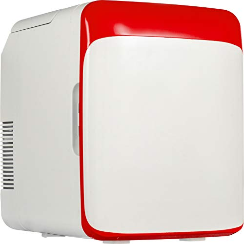 VEVOR 10L Mini Gefrierschrank 48W Minibar Kühlschrank Kühlschrank Klein Flaschenkühlschrank, Kleiner Kühlschrank, Minikühlschrank Lautlos Kühlschrank Mini, Mini Kühlschrank Günstig