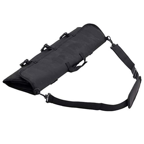 Glomab Bogenschießen Bogentasche, Tragbare Faltbare Leinwand Recurve Bogen Fall Pfeil Köcher Tragen Schießen Recurve Bogentasche
