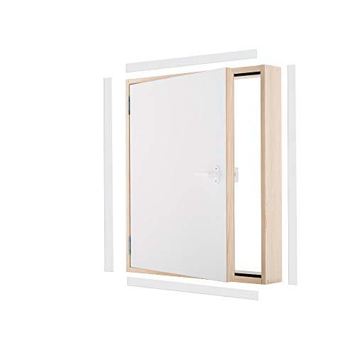 Kniestocktür Drempeltür TERMO Ud=1,22 W/m2*K Oman 80x60 Holz Abseitentür