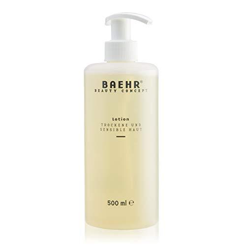 BAEHR BEAUTY CONCEPT Lotion für Trockene und sensible Haut Flasche (500 ml)
