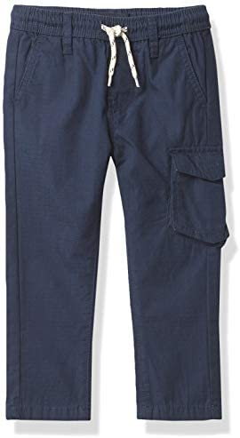 Nautica Boys Elastic Waist Twill Cargo Pant Navy Medium 10 12 product image