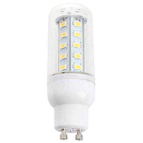 SODIAL(R) GU10 5W 35 LEDs SMD5630 Mais Lampe 450LM Lampe Ampoule Blanc Chaud NOUVEAU