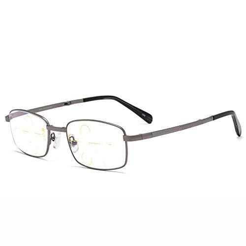 JJCFM Ultralichte, opvouwbare leesbril, voor dames en heren, modieus, anti-blauw