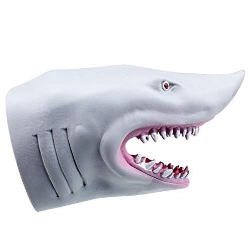Guantes de plástico tiburón marioneta de Mano Cabeza de Animal Niños Juguetes Animal Gift Regalos...