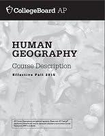 AP Human Geography Course Description 2015 product image