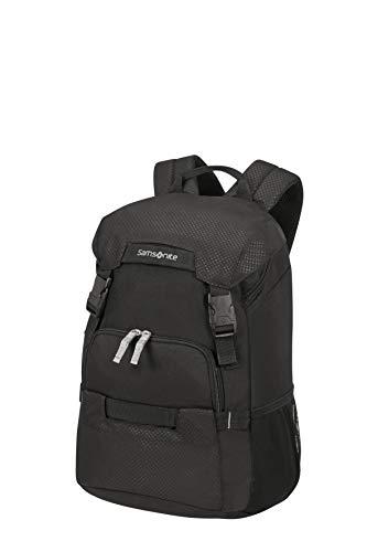 Samsonite Unisex_Adult Laptop Backpacks, Black, 14 Zoll (44 cm - 23 L)