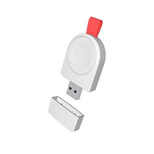 XIHAMA For i Watch ワイヤレス磁気充電器 i Watchシリーズ用ポータブル USB充電スタンドi Watch 5/4/3/2/1 モバイルバッテリー