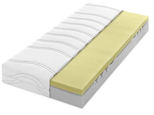 Dunlopillo Home 3400 - Colchón de espuma de poliuretano con 7 zonas, H2, 120 x 200 cm