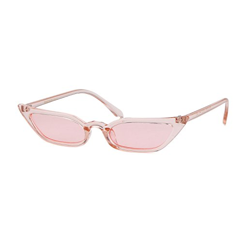 Vintage Sunglasses Women Cat Eye Frame Color lens Valentine's Day gift