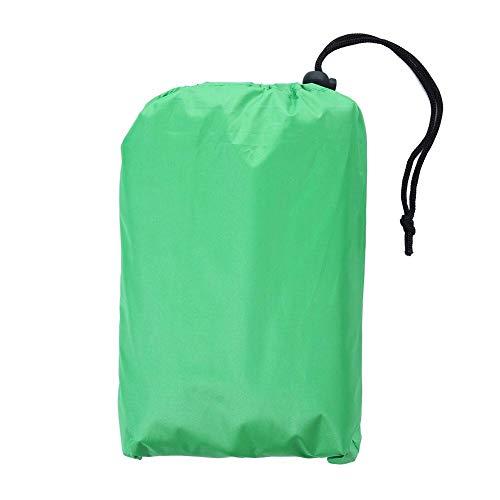 Cubierta universal para mesa de tenis, 155x75x150cm Protector impermeable contra el polvo de tenis de mesa con una bolsa de almacenamiento, cubierta de mesa de ping pong a prueba de viento(Verde)