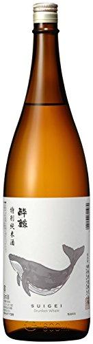 旭食品 酔鯨 特別純米酒 1.8L [1070]