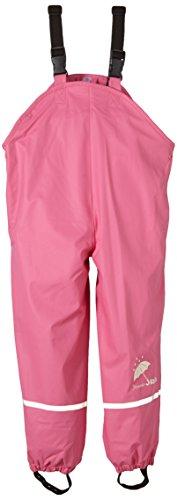 Sterntaler Unisex Kids Regenträgerhose gefüttert Regenhose, Pink 744 (New Hortensie), 104