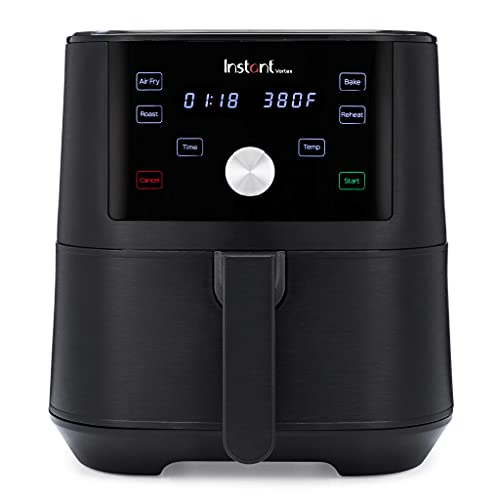 Instant Brands Vortex 4-in-1 Air Fryer 5.7L - Healthy Air Fryer, Bake, Roast and Reheat with...