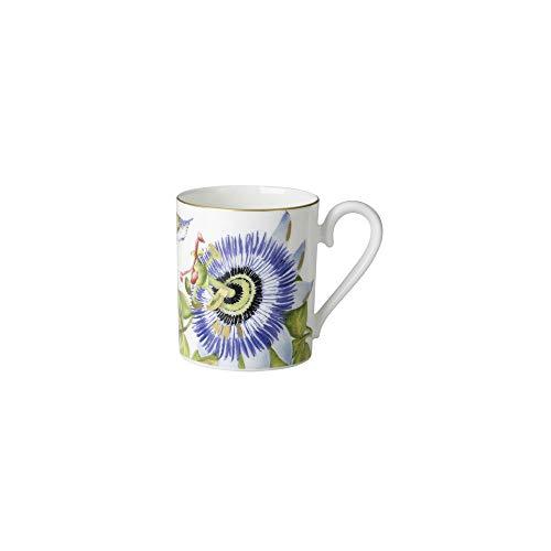 Villeroy & Boch Amazonia Kaffeebecher im Geschenkkarton, Edles Geschirr aus Premium Bone Porzellan, 24 x 24 cm