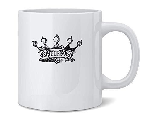 shenguang House Sheeran Crown Sigil Crest Funny Ceramic Coffee Agresser Tea Cup Fun Novelty Gift 12 oz